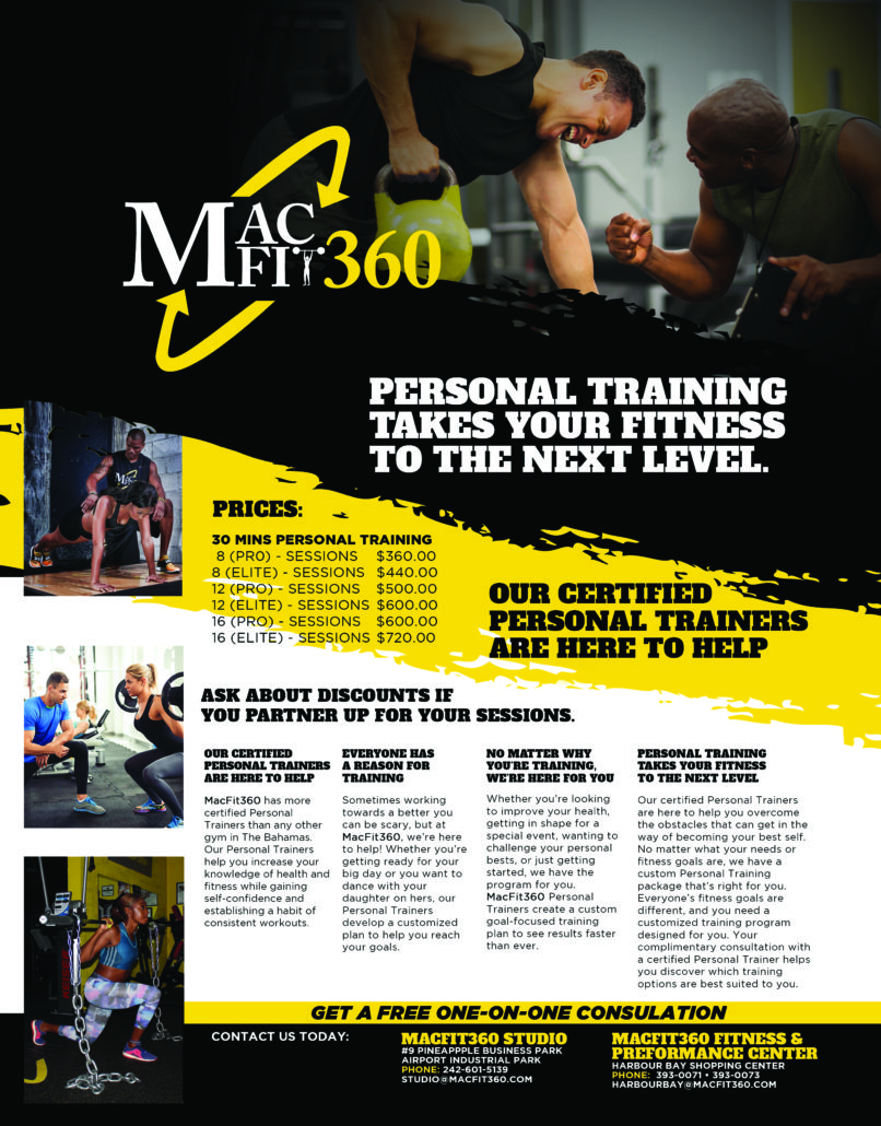 Personal Training Macfit360 Fitness Performance Center
